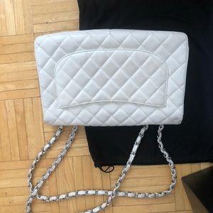 CHANEL Bags - White Chanel Purse